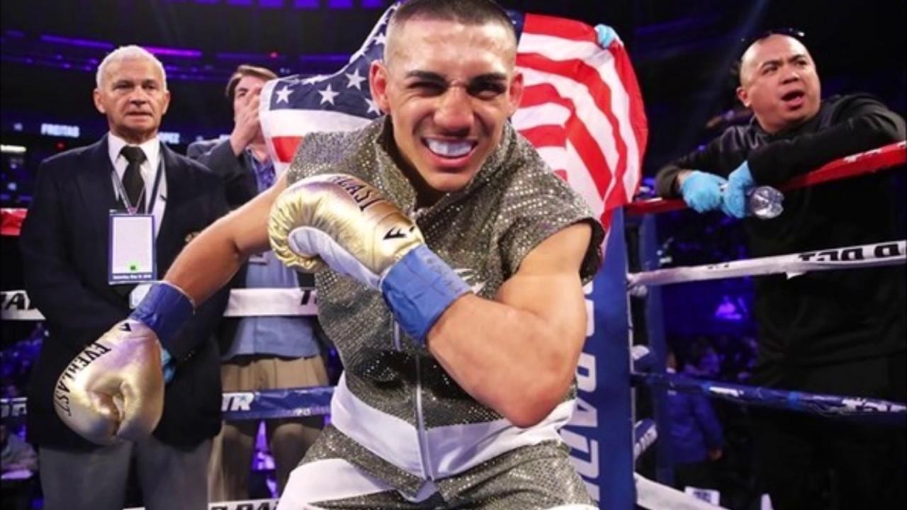 «Золотая перчатка» Америки в легком весе – Теофимо Лопес