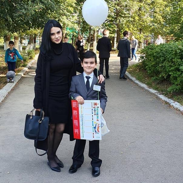Ирина Игнатенко с сыном