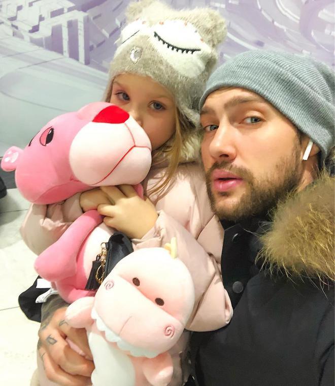 Олег Кензов с дочерью