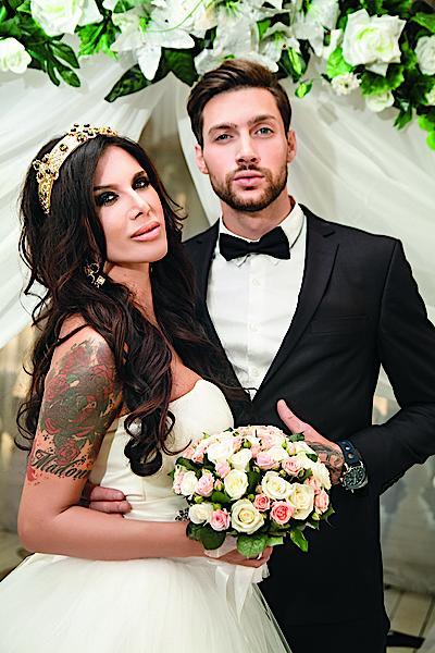 Олег Кензов с женой