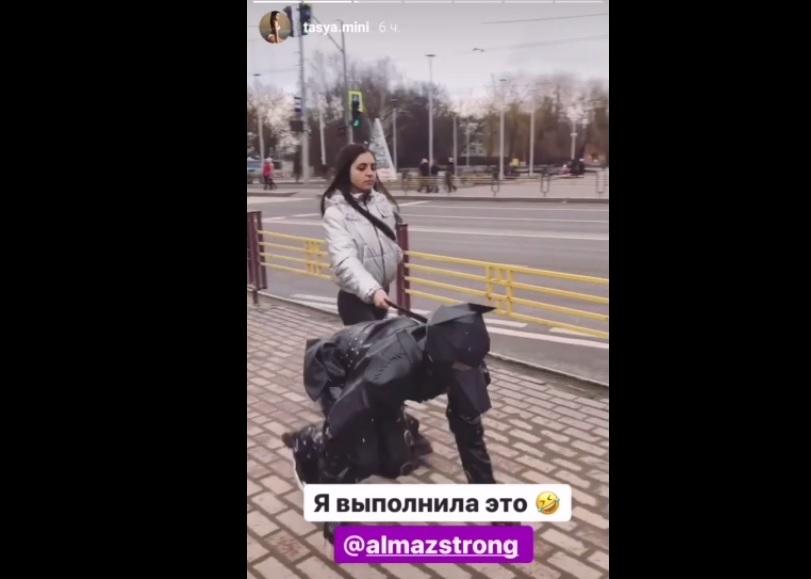 Тася Кривун. Биография. Танцы на ТНТ. Фото до и после (инстаграм)