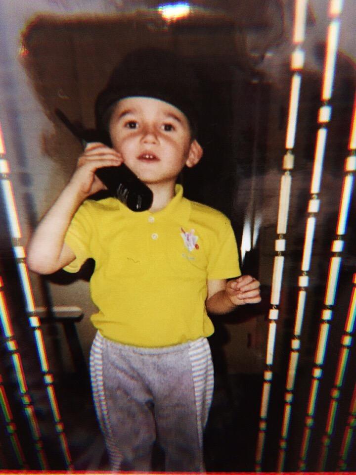 Рома Субботин в детстве