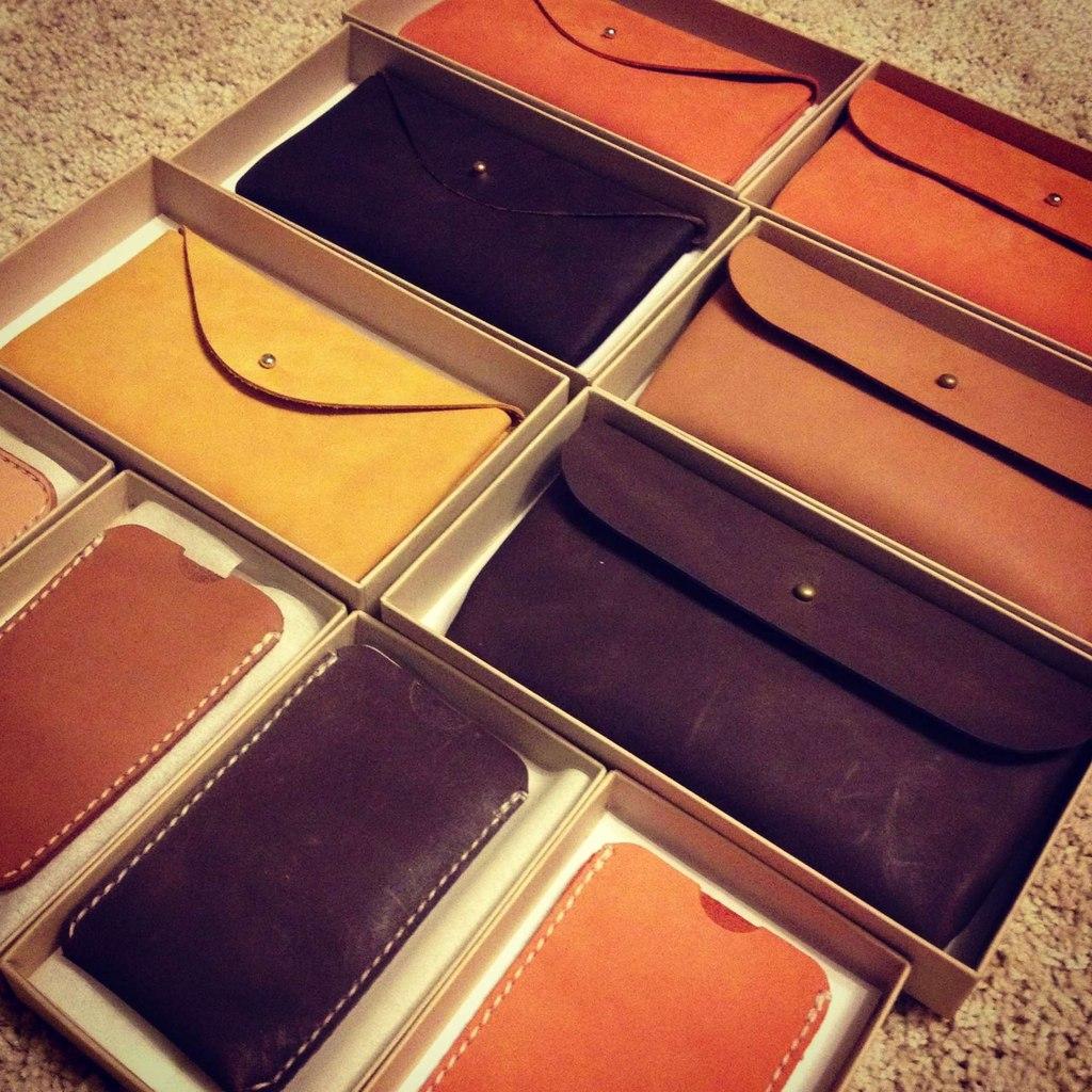 Monk Leather Goods фото продукции