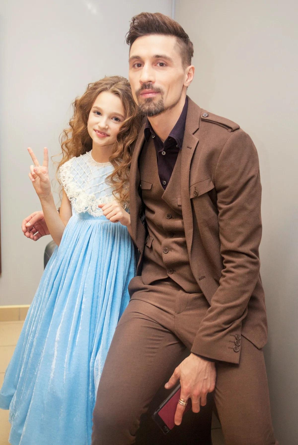 Лиза Анохина с Димой Биланом