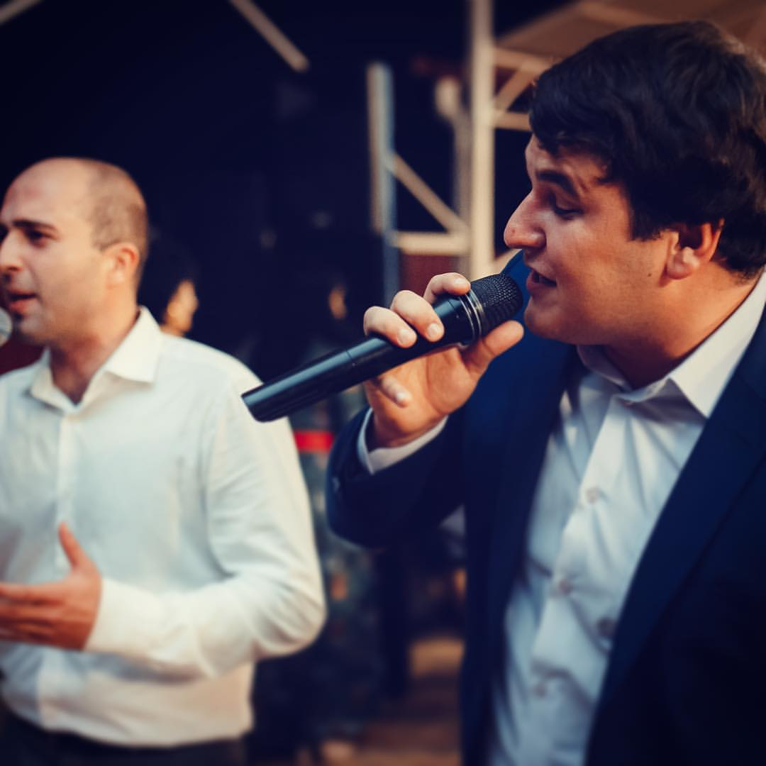 Рустам Нахушев. Фото с выступления