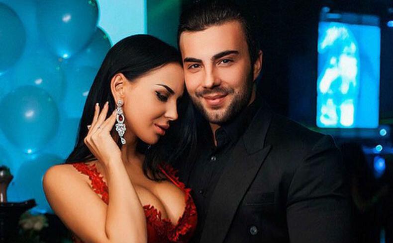 Анна Левченко с бывшим возлюбленным Алексеем