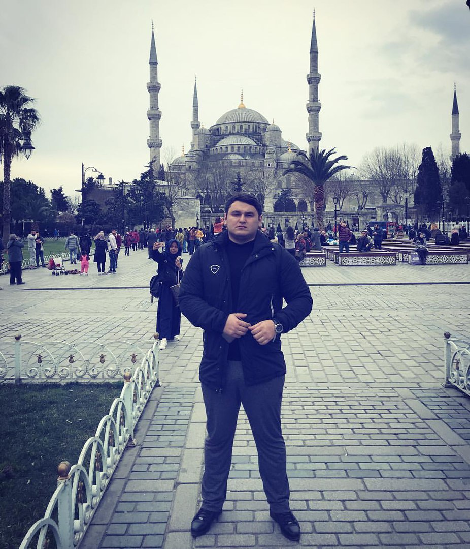 Рустам Нахушев фото в Стамбуле